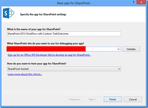 sharepoint 2013 workflow app step sharepoint 2013 app workflow with custom task outcomes