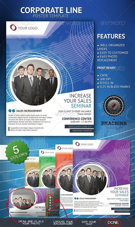 best flyer design graphicriver 100 best images about print templates on pinterest