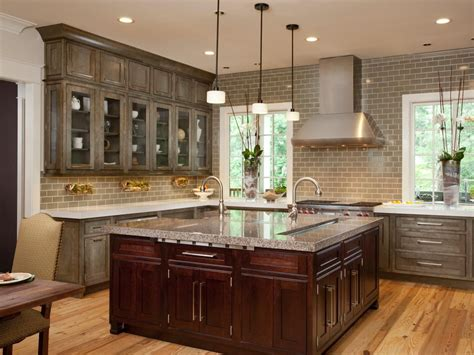 black and gray kitchen cabinets kitchen cabinet gray stained wood kitchen cabinets light