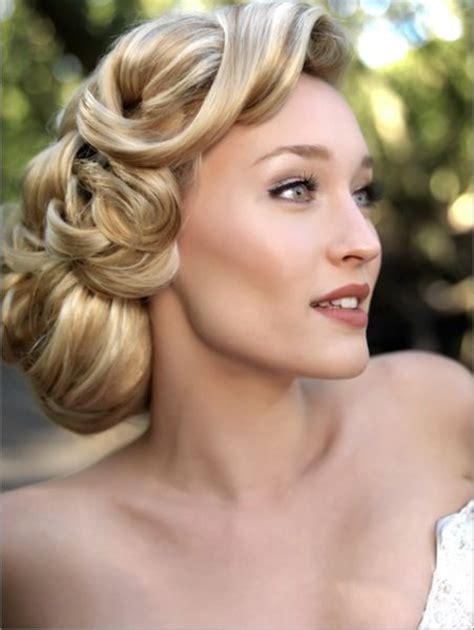 hairstyles for long hair glamour 25 best ideas about vintage updo on pinterest retro