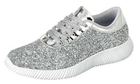 Snackers Mata mata s lace up glitter sneakers groupon