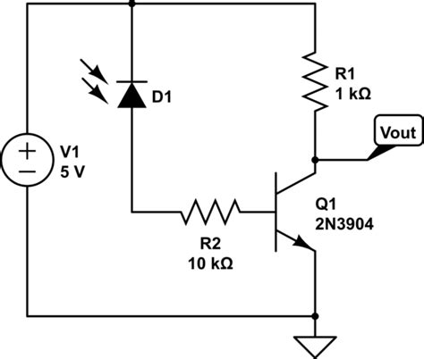 a note on photodiode switching bjt transistor with photodiode electrical engineering stack exchange