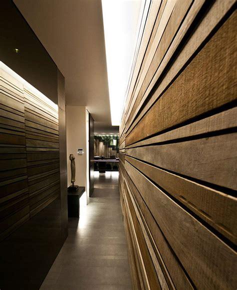 modern wood slat wall building concept of casa g interiorzine