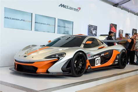 concept mclaren 986 hp mclaren p1 gtr concept revealed pebble beach