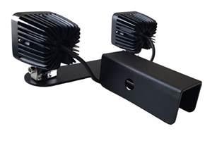 mounting lights trailer hitch receiver backup offroad light mount bracket