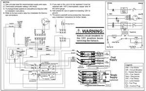 wiring schematic for intertherm furnace