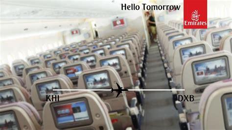 emirates economy class wifi flight report emirates boeing 777 300 karachi