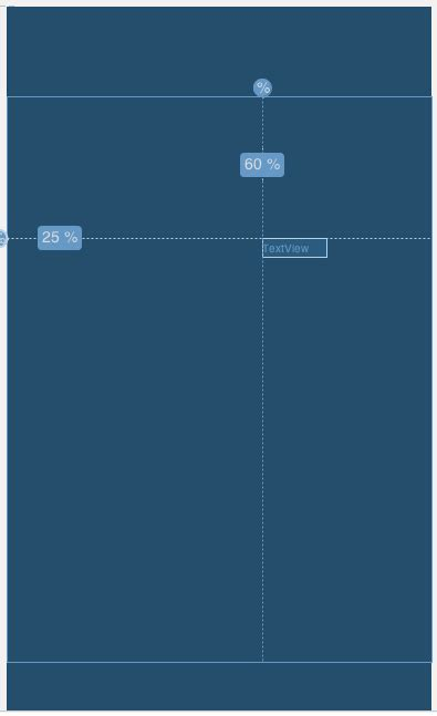 android layout height percentage of parent android margin padding in percentage in xml stack overflow