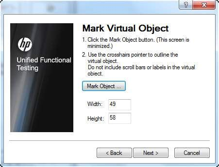 tutorialspoint uft qtp virtual objects