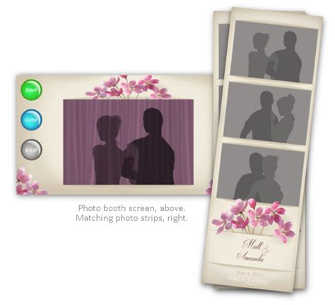 layout design for photo booth beautiful wedding photo strip photo booth print layout