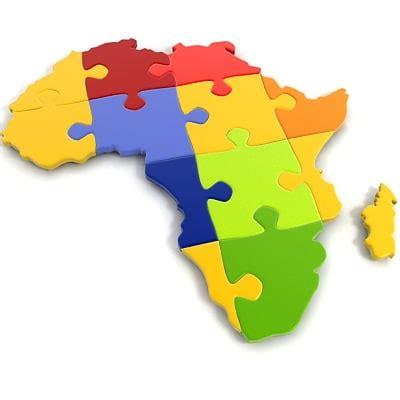 africa map jigsaw 3d jigsaw puzzle africa