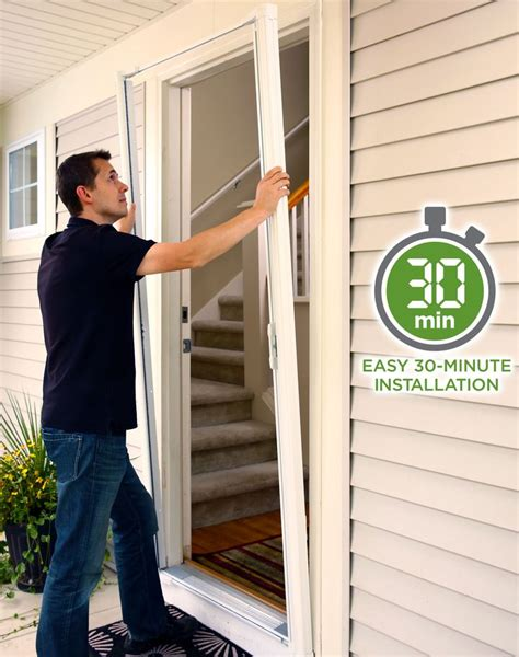 patio screen door installation 1000 ideas about retractable screen door on