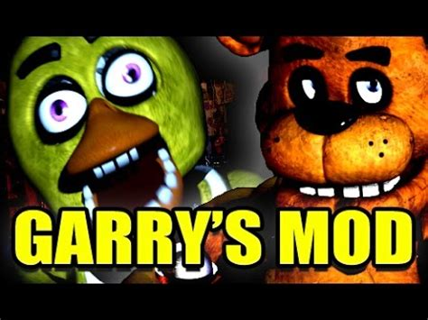 mod garry s mod five nights at freddy s gmod five nights at freddy s scary mod garry s mod