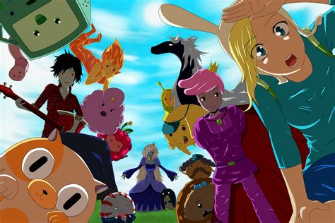 wallpaper anime adventure time adventure time by yopiiart on deviantart