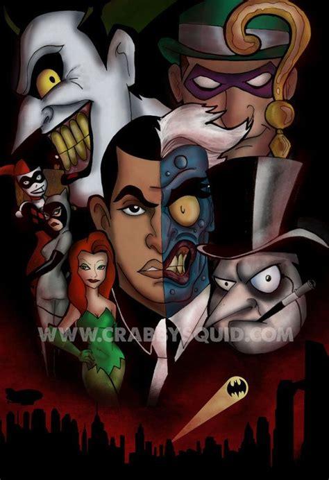 Tas Bat Tas Bet batman the animated series villains 13 x19 poster poster batman the animated series and batman