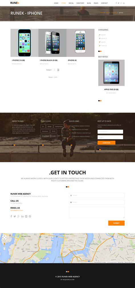 Runek Multipurpose And Responsive Joomla Theme By | runek multipurpose and responsive joomla theme by
