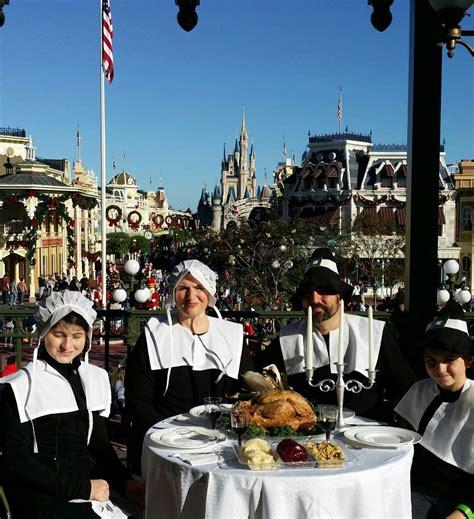 tbt thanksgiving dinner   magic kingdom