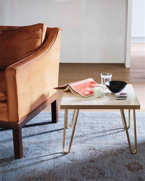 Martha Stewart Kitchen Table Brass Leg Side Table Martha Stewart