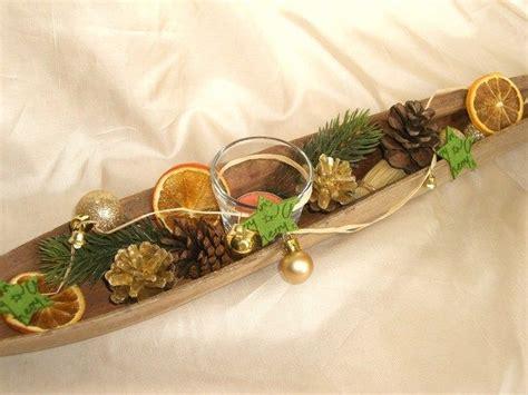 tischdeko weihnachten günstig weihnachts tischdeko kokosblatt kerze naturdeko