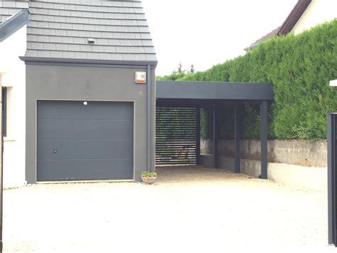Carport Mit überdachung Des Eingangs by Le Carport Aluminium De La Semaine Carport