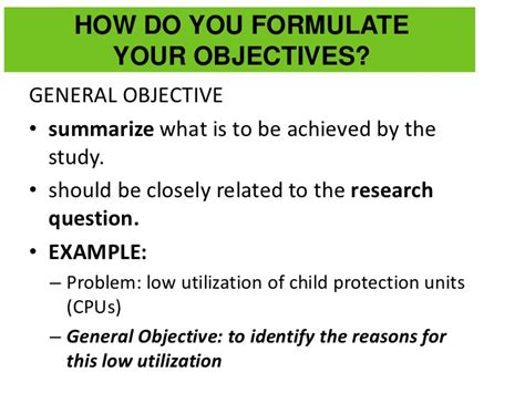 research process objective hypothesis lec2
