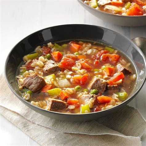 taste of home beef barley soup