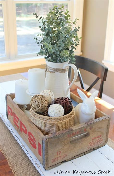 Dining Room Table Centrepieces 25 Best Coke Crate Ideas On Coke Crates Footstool Ideas And Coca Cola Kitchen