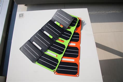 compact solar charger pocketpower compact portable solar charger 187 gadget flow