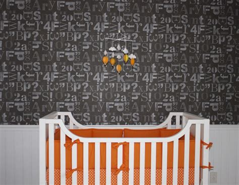 Orange And White Crib Bedding by Gallery Roundup Orange In The Nursery Project Nursery
