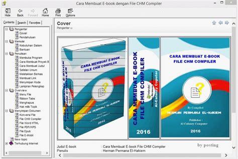 cara membuat novel pdf contoh sebuah e book yang sudah dibuat file chm gambar 7