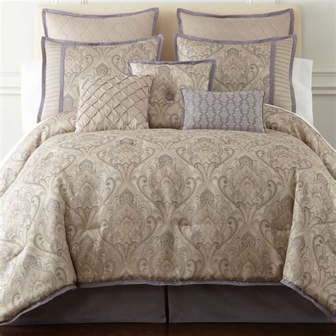 cheap home expressions le reine 7 pc comforter set