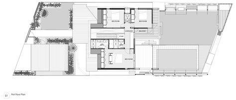 Kitchen Floor Planner gallery of castlecrag residence cplusc architectural