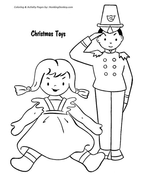 coloring pages of toys for christmas christmas toys coloring pages kids toys for christmas