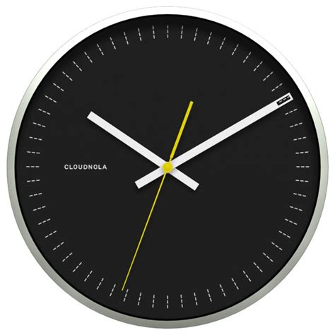 black wall clocks modern objective wall clock black modern wall clocks by