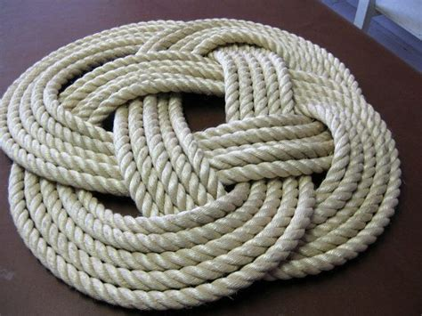 Rope Rug by Rope Rug Diy