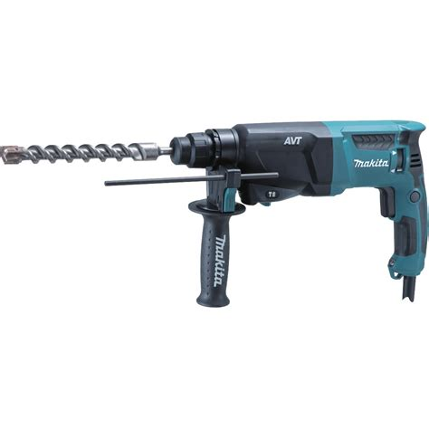 Rotary Hammer Drill 1 Bor Beton 26 Mm Dzc03 26 Dongcheng makita hr2611f 26mm sds rotary hammer drill in carry powertool world