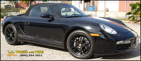 porsche black rims l a wheel chrome oem wheel experts porsche install