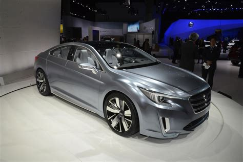 subaru legacy concept 2015 subaru legacy concept live photos and from l a