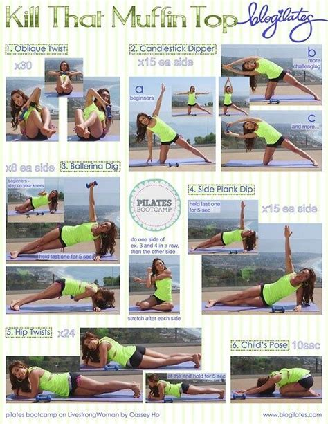 muffin top handle workout get into shape
