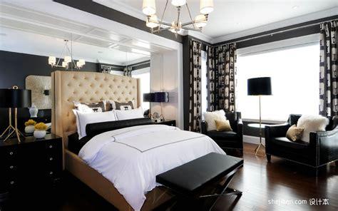 Master Bedroom Decorating Ideas In Black And White 卧室窗帘装修效果图大全2012图片 最新现代简约卧室设计 土巴兔装修效果图