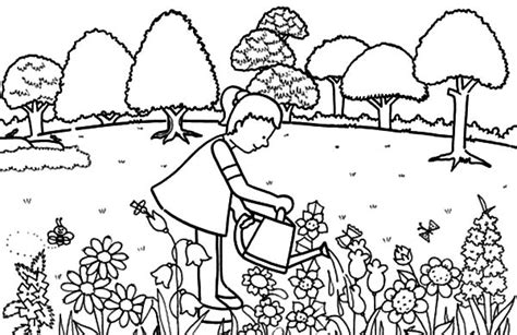 Beautiful Photo About Coloring Pages Of Trees And Grass Tree Farm Coloring Pages