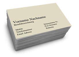 Visitenkarten Privat by Privat Visitenkarten 85 X 55 Mm 1 Seitig Seite 1
