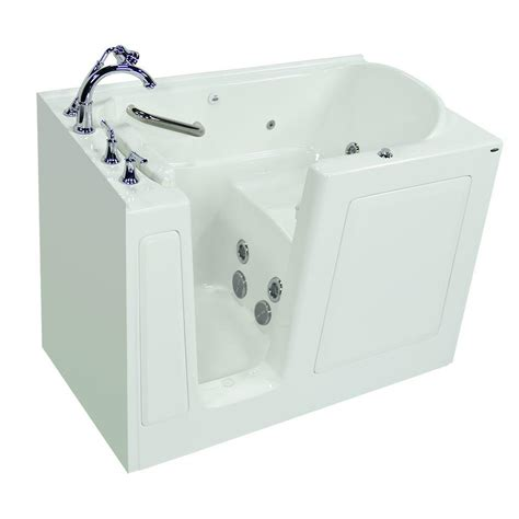 american standard walk in bathtub american standard exclusive series 51 in x 31 in walk in
