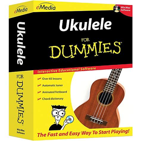 emedia piano para dummies boxed guitar center emedia ukulele for dummies boxed guitar center