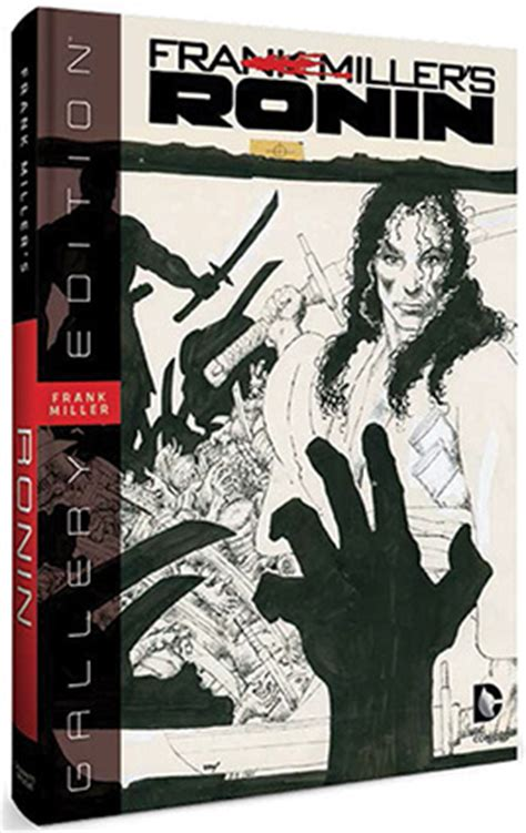 Ronin The Deluxe Edition By Frank Miller Graphic Novel Ebook frank miller s ronin gallery edition artist s edition index