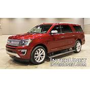 2018 Ford Expedition MAX Platinum – 7 Passenger Full Si