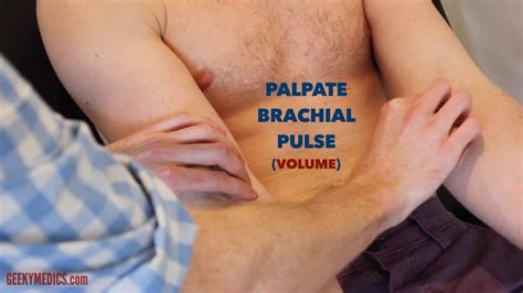 Is This Pulse peripheral vascular examination osce guide geeky medics