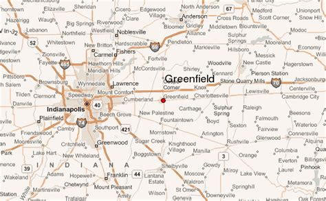 greenfield ohio map greenfield indiana location guide