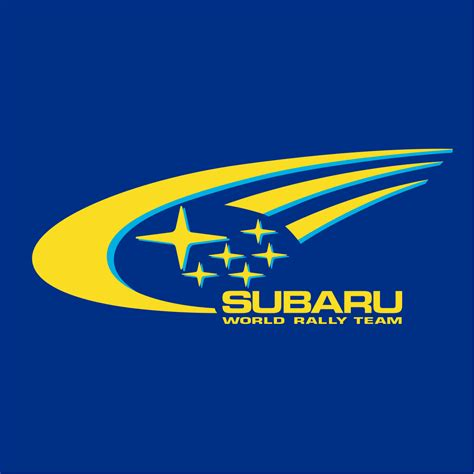 subaru logos subaru rally team