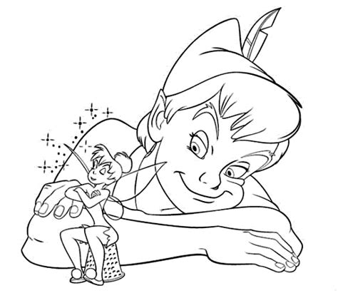 christmas tinkerbell coloring pages photograph peter pan a